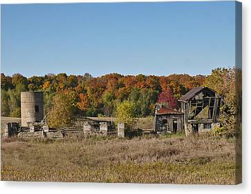 Canvas Print featuring the photograph Relics Of The Past by Gary Hall