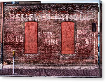Relieves Fatigue  Canvas Print by Robert  FERD Frank