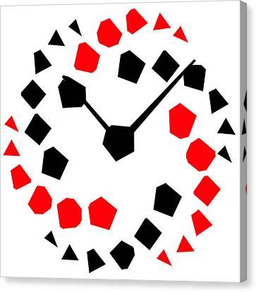 Reloj Moderno Canvas Print by Galeria Zullian  Trompiz