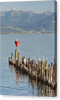 Remains Of Old Harbour # 2 Canvas Print by Holger Spiering