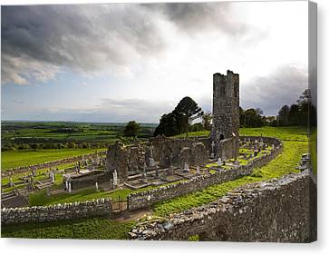Remains Of The Church On St Patricks Canvas Print by Panoramic Images