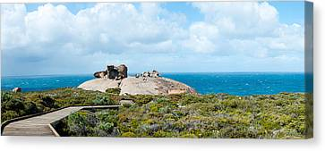 Remarkable Rocks On The Coast, Flinders Canvas Print by Panoramic Images