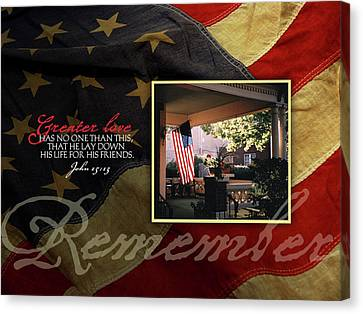 Remember Canvas Print by Tammy Apple