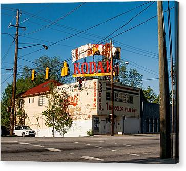 Canvas Print featuring the photograph Remember When? by Robert L Jackson