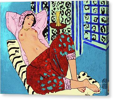 Remembering Matisse Canvas Print by Roberto Prusso