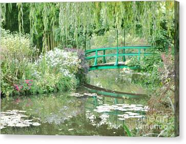 Remembering Monet  Canvas Print by Olivier Le Queinec