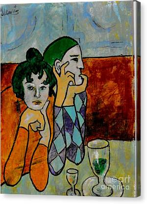 Remembering Picasso Canvas Print by P J Lewis