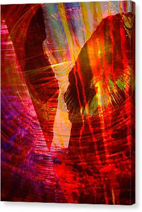 Remembering Canvas Print by Shirley Sirois