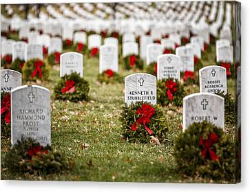 Remembering The Fallen Ones Canvas Print