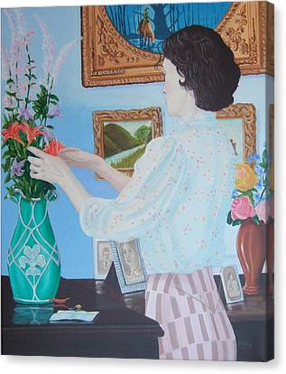 Rememeber Me Canvas Print by Michael McEvoy