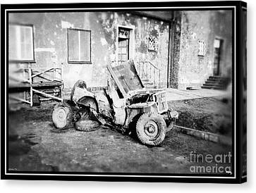 Remnants Of War Canvas Print by Glenn McCarthy Art and Photography