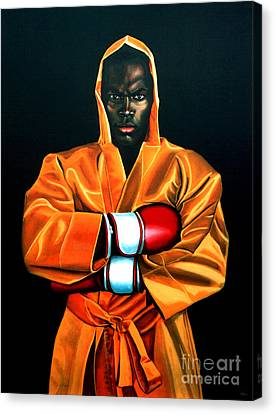 Thai Canvas Print - Remy Bonjasky by Paul Meijering