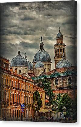 Renaissance Domes Canvas Print by Hanny Heim
