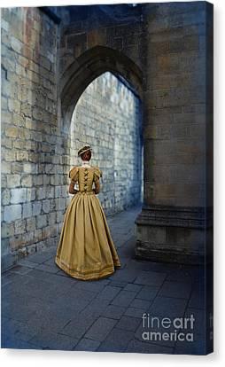 Renaissance Lady Canvas Print by Jill Battaglia
