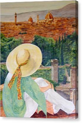 Renaissance Canvas Print by Maureen Pisano
