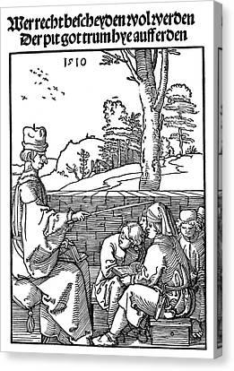 Renaissance School, 1510 Canvas Print