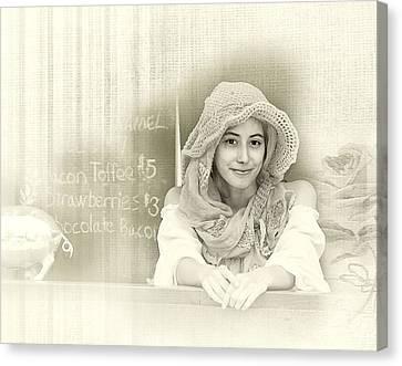 Renaissance Woman Canvas Print