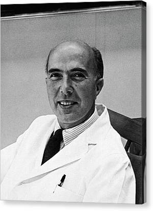 21st Century Canvas Print - Renato Dulbecco by National Library Of Medicine
