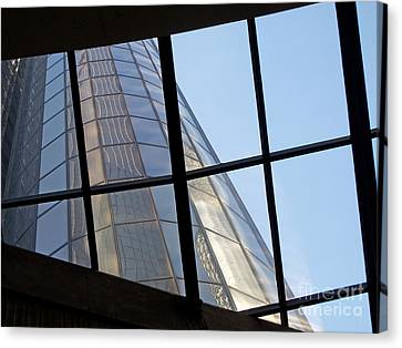 Rencen Skylight Canvas Print by Ann Horn