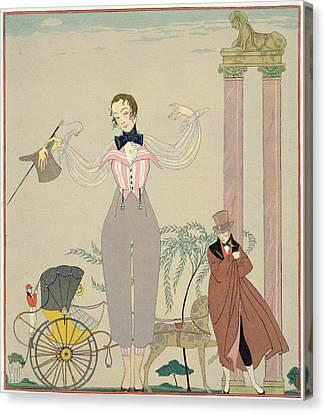 Rendez-vous  Canvas Print by Georges Barbier