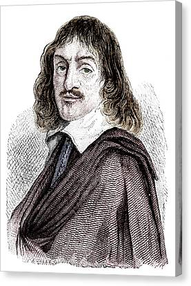 Rene Descartes Canvas Print by Science Photo Library