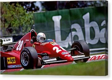 Rene's Ferrari Canvas Print by Mike Flynn