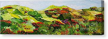 Renewal Canvas Print by Allan P Friedlander