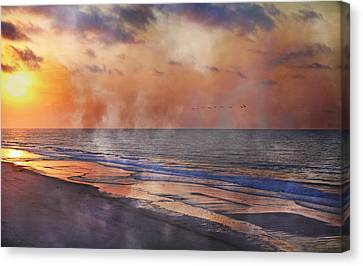 Renewed Canvas Print by Betsy Knapp