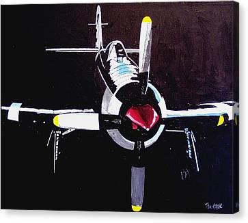 Reno Air Races Canvas Print by Paul Guyer