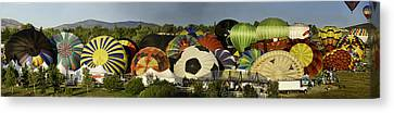 Reno Balloon Race Panorama Canvas Print