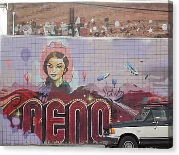Reno Canvas Print