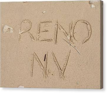 Reno Canvas Print by Jewels Blake Hamrick