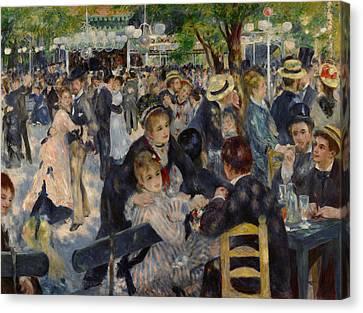 Renoir Moulin De Galette Canvas Print by Granger