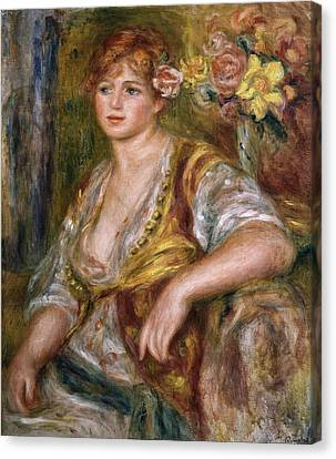 Renoirpierre-auguste 1841-1919. Blonde Canvas Print by Everett