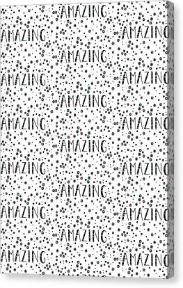 Repeat Print - Amazing Canvas Print