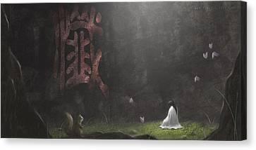 Repentance Canvas Print by Hiroshi Shih
