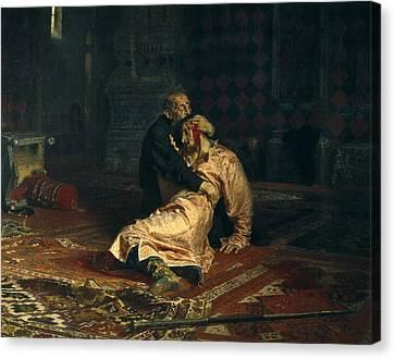 Repin, Ilya Yefimovich 1844-1930. Ivan Canvas Print by Everett