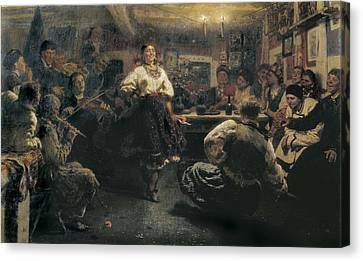 Repin, Ilya Yefimovich 1844-1930. The Canvas Print by Everett