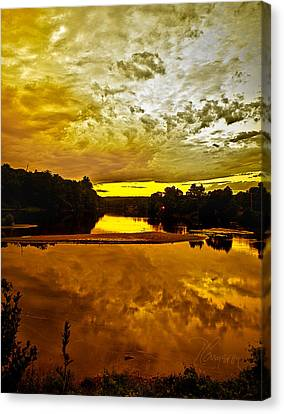 Canvas Print featuring the photograph Repose by Tom Cameron