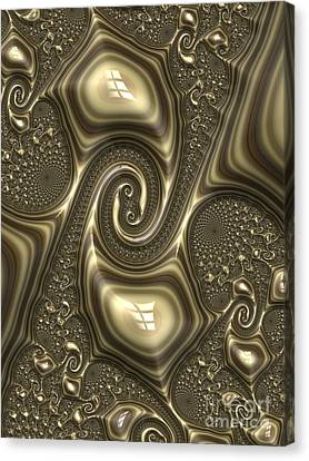 Repousse In Bronze Canvas Print by John Edwards