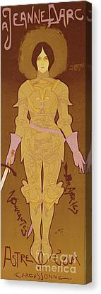 Armor Canvas Print - Reproduction Of A Poster Advertising by Georges de Feure