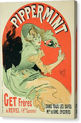 Reproduction Of A Poster Advertising Canvas Print