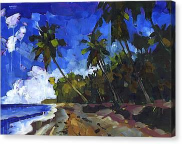 Republica Dominicana Canvas Print by Douglas Simonson