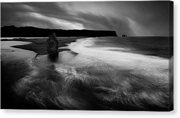 Requiem For The Sea Canvas Print