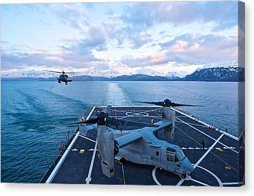 Rescue Operations Canvas Print by Staff Sgt Zachary Wolf