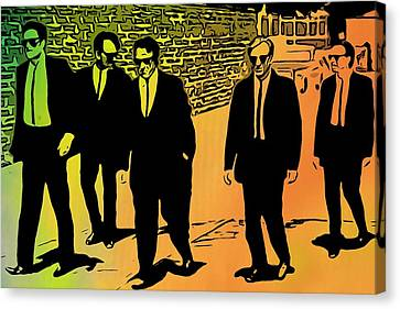 Reservoir Dogs Canvas Print by Dan Sproul