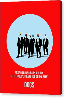 Reservoir Dogs Poster 1 Canvas Print by Naxart Studio