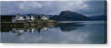 Residential Structure On The Canvas Print