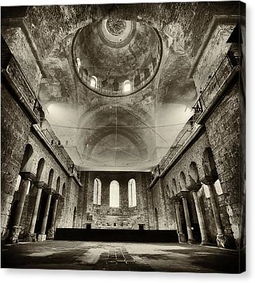 Resilient - Hagia Irene Canvas Print by Stephen Stookey