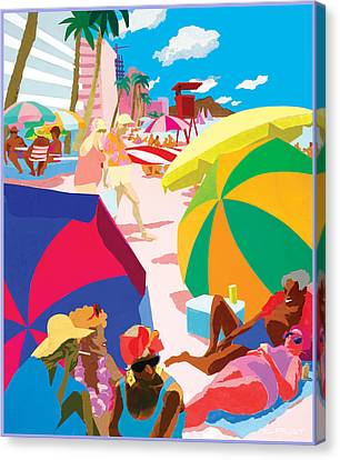 Resort Canvas Print by Clifford Faust